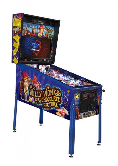 buy willy wonka pinball machines online