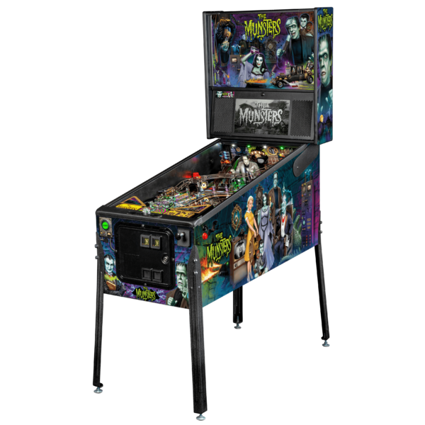 buy munsters color pinball machine online