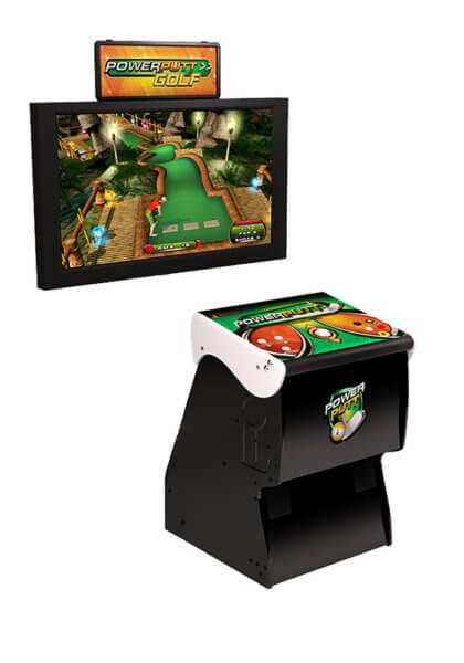 Power Putt Golf Arcade Game
