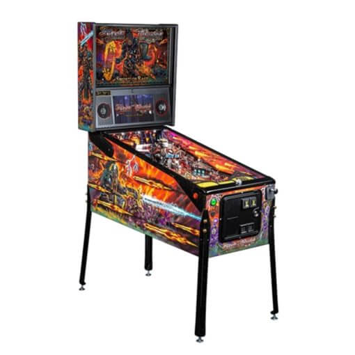 Black Knight 'Sword of Rage' Limited Edition Pinball Machine by Stern