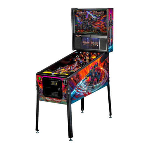 Black Knight 'Sword of Rage' Premium Pinball Machine by Stern