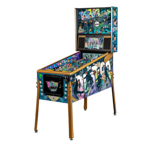 The Beatles Gold Edition Pinball Machine by Stern
