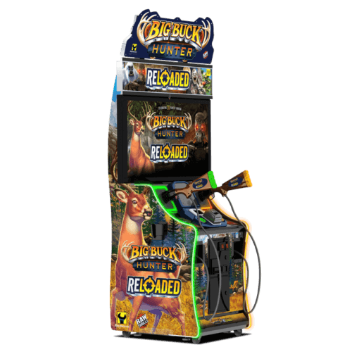 Big Buck Hunter Reloaded with 42″ LCD Monitor