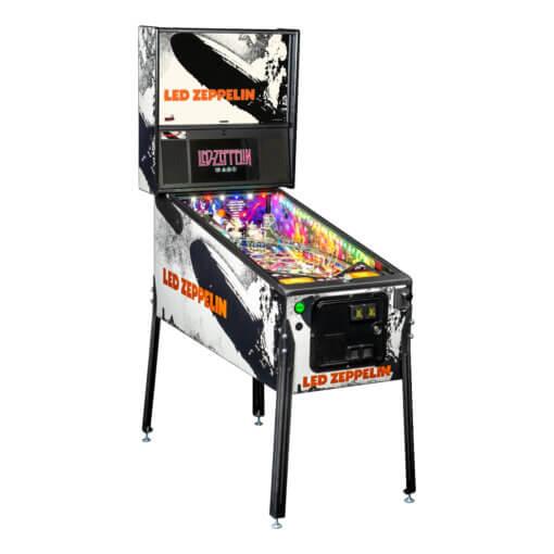 Led Zeppelin Premium Pinball Machine by Stern