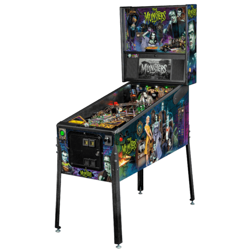 The Munsters Premium (Color) Pinball Machine by Stern