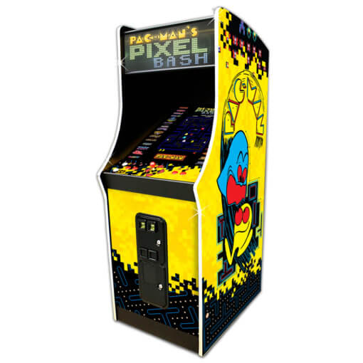 Pac-man's Pixel Bash Arcade Coin Version with 31 games