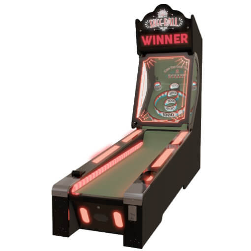 Skee-ball Glow Alley