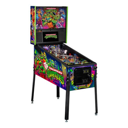 Teenage Mutant Ninja Turtles Pro Pinball Machine by Stern
