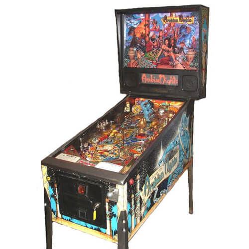 Tales of the Arabian Nights Pinball Machine by Williams