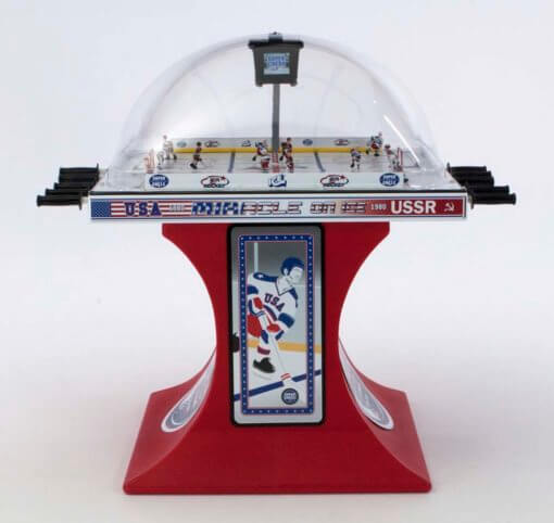 """""""Miracle on Ice"""" Super Chexx Pro Bubble Hockey"""