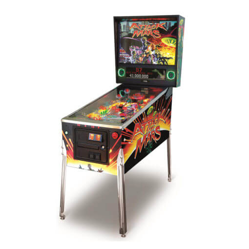 Attack From Mars Remake Pinball Machine – Special Edition