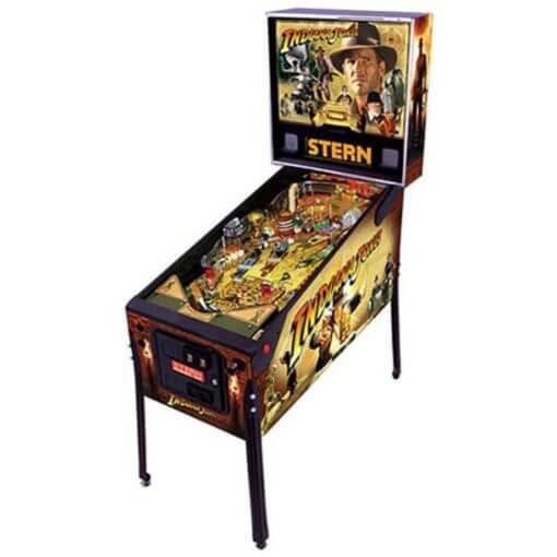 Indiana Jones Pinball Machine (2008) by Stern