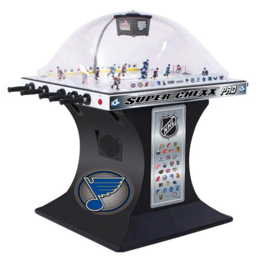 NHL Licenced Super Chexx Pro Bubble Hockey – Choose Your Teams!
