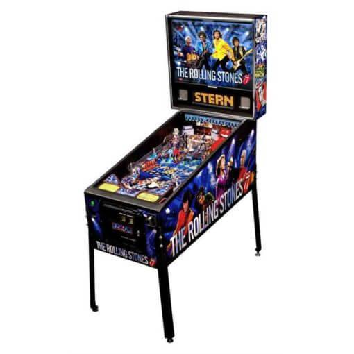 Rolling Stones Pinball Machine by Stern