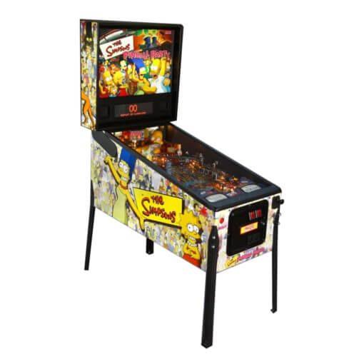 Simpsons Pinball Party Machine