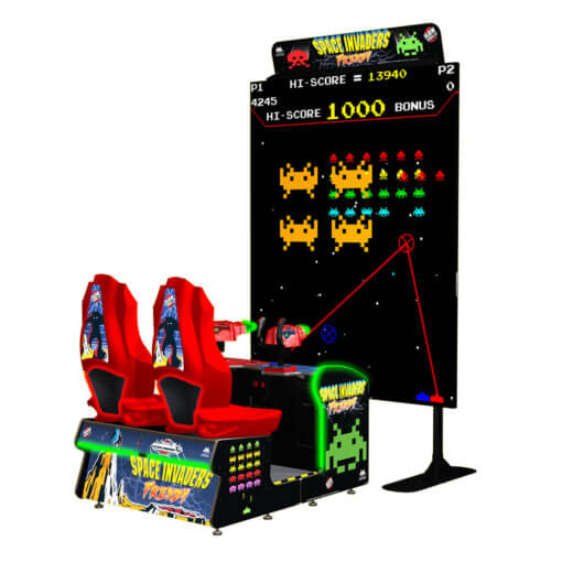 Space Invaders Frenzy Arcade Game