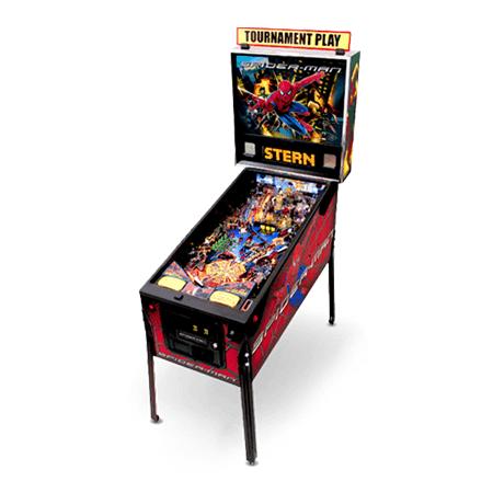 Spider-man Pinball Machine