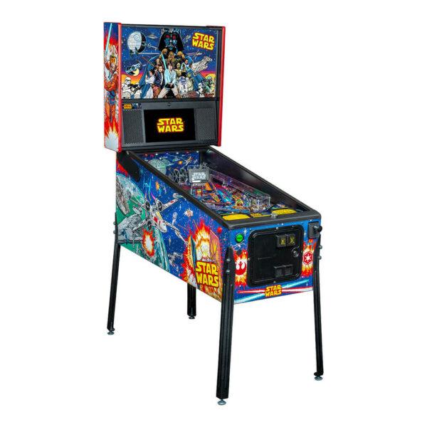 Star Wars Pro Comic Art Pinball Machine by Stern
