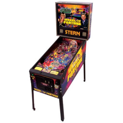Wheel of Fortune Pinball Machine by Stern