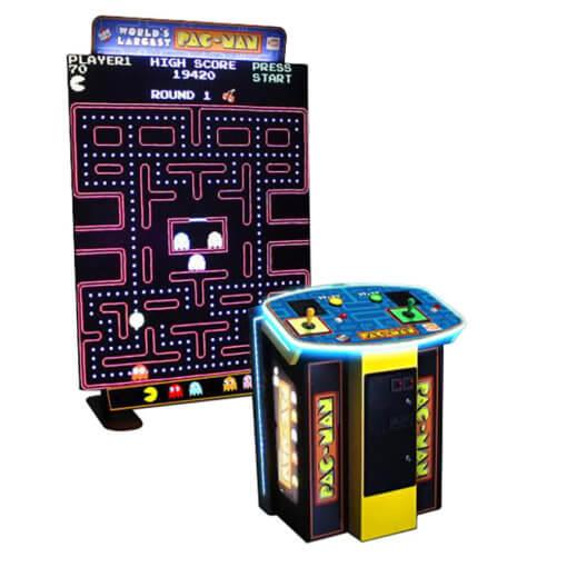 World's Largest Pac-Man Arcade