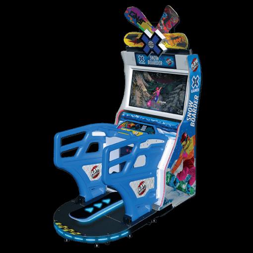 X Games Snowboarder Arcade Game